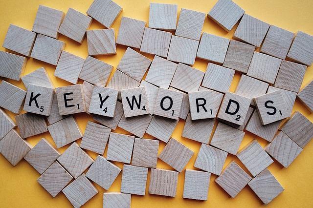 Odpowiedni dobór słów kluczowych